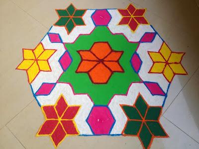 designing in rangoli
