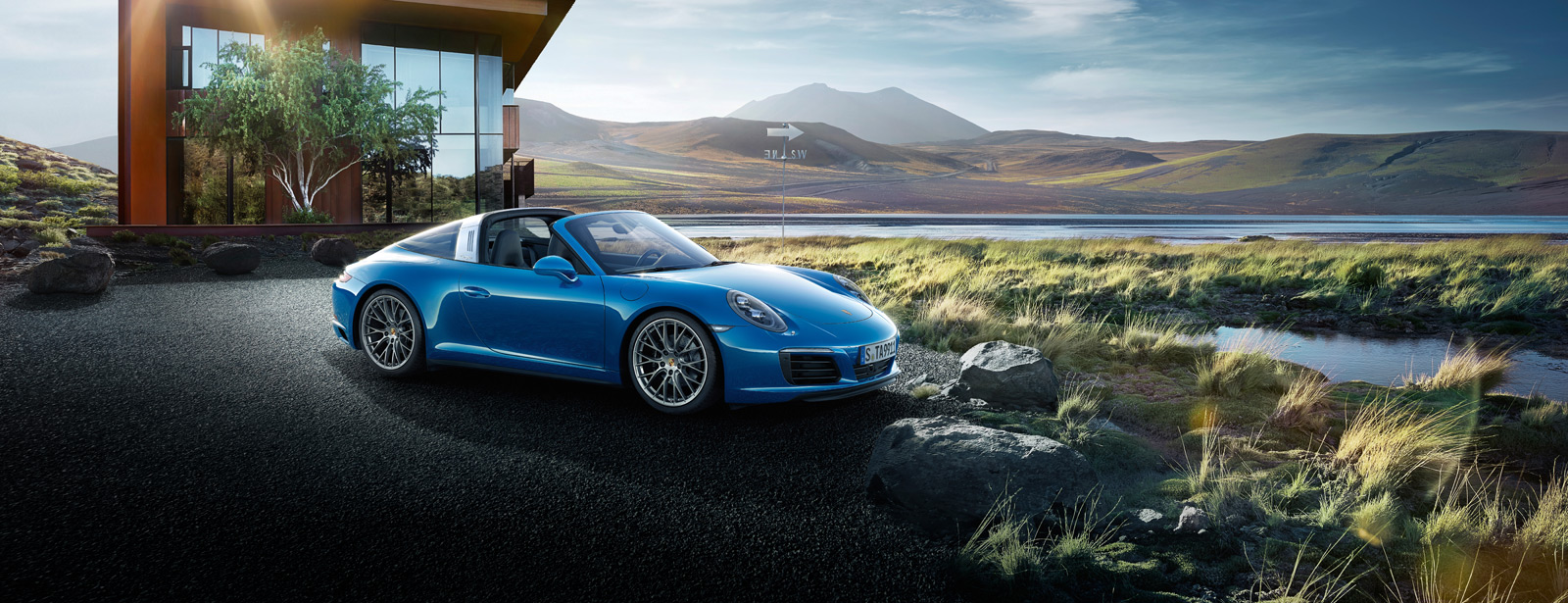 Porsche The new 911 Targa 4
