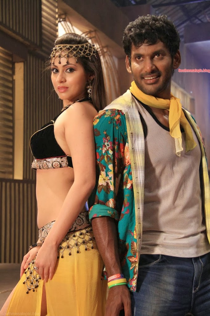 Sada Hot Thoppul Stills from MGR with Vishal