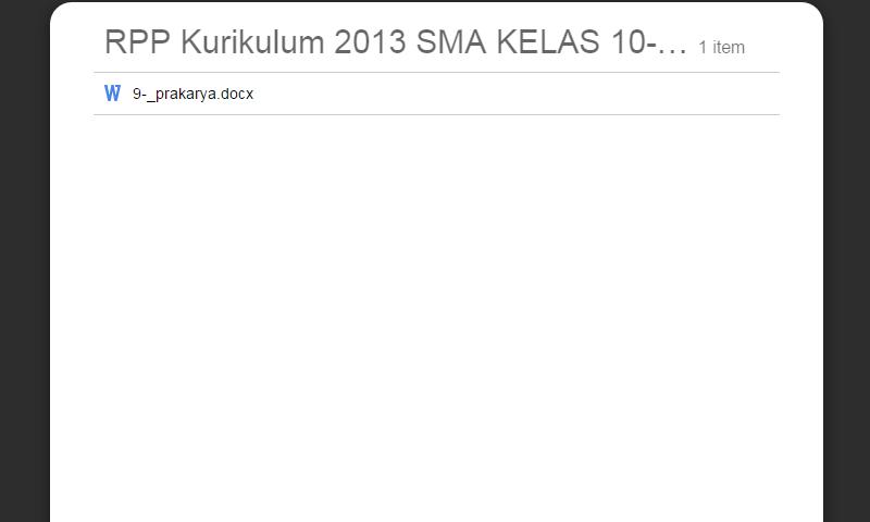 New Revisi Rpp Kurikulum 2013 SMA Kelas 10-11-12 Prakarya LengkapTerbaru