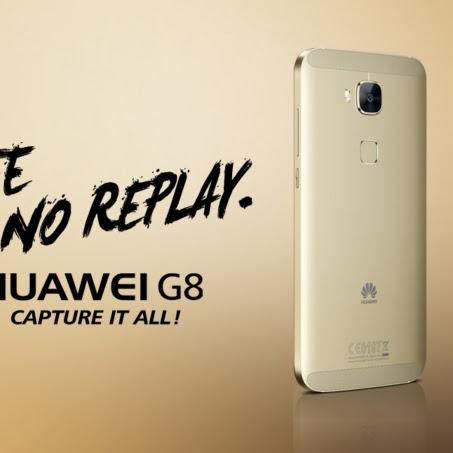 Cari smartphone berteknologi fingerprint yang terjangkau? Huawei G8 jawabannya!