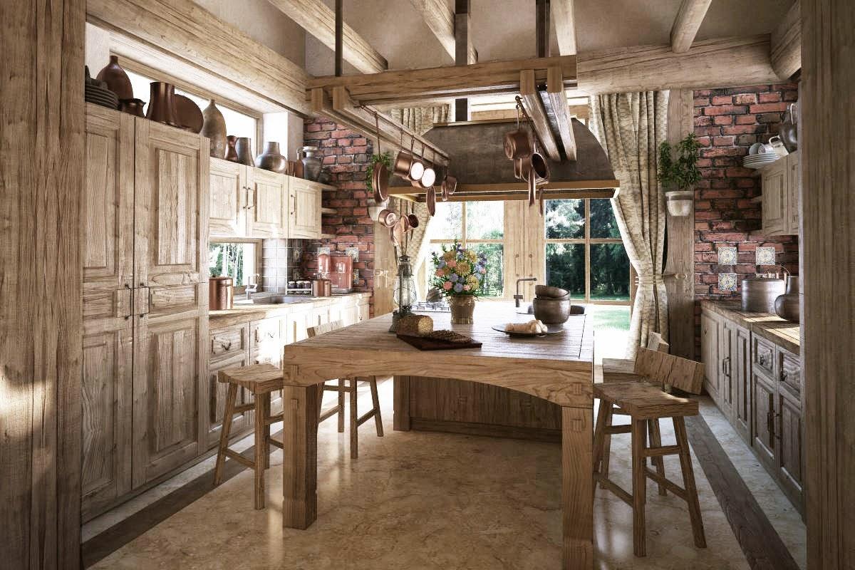 Gambar Desain Dapur Tradisional
