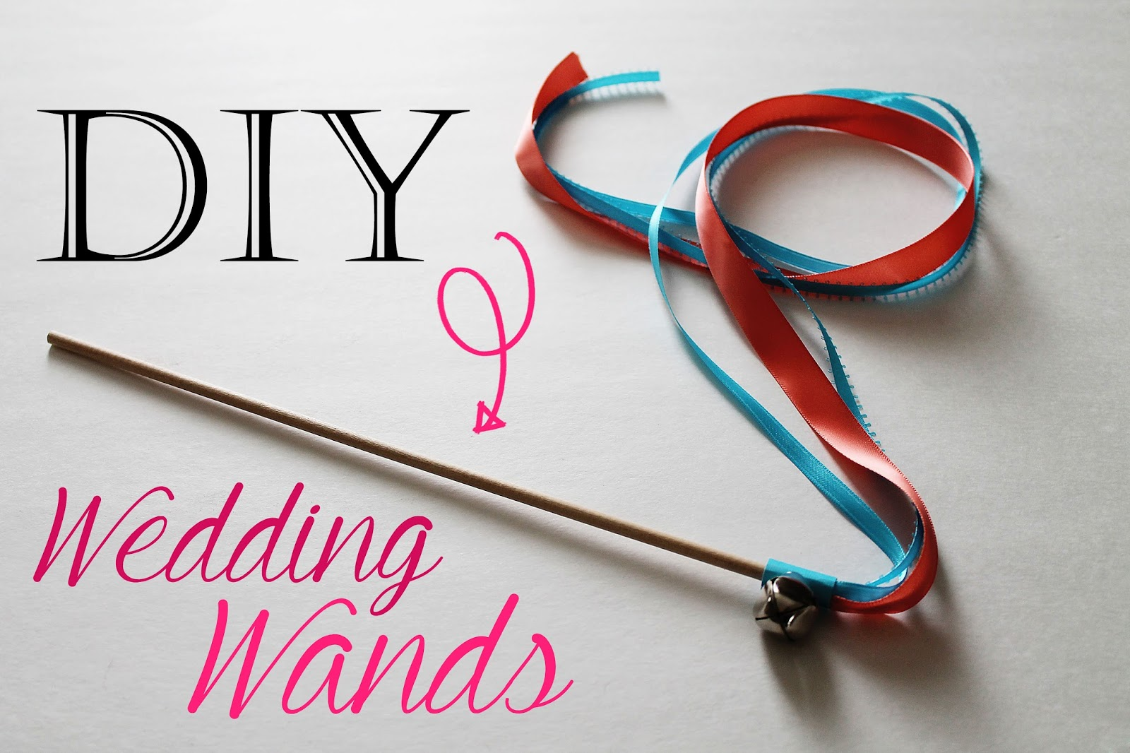 Confessions of a new old home owner diy wedding wands solutioingenieria Gallery