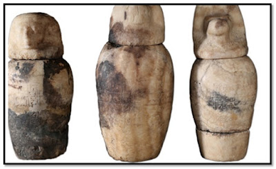 New Discovery, Luxor: 26th Dynasty Canopic Jars Discovered at Luxor's South Asasif Necropolis