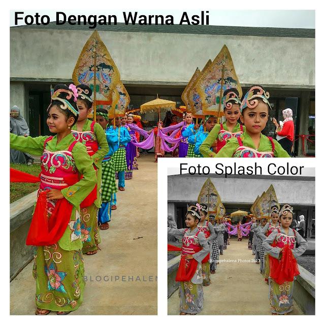 Splash color photos
