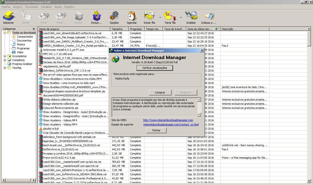 Internet Manager v6.26 Build 3 + Crack