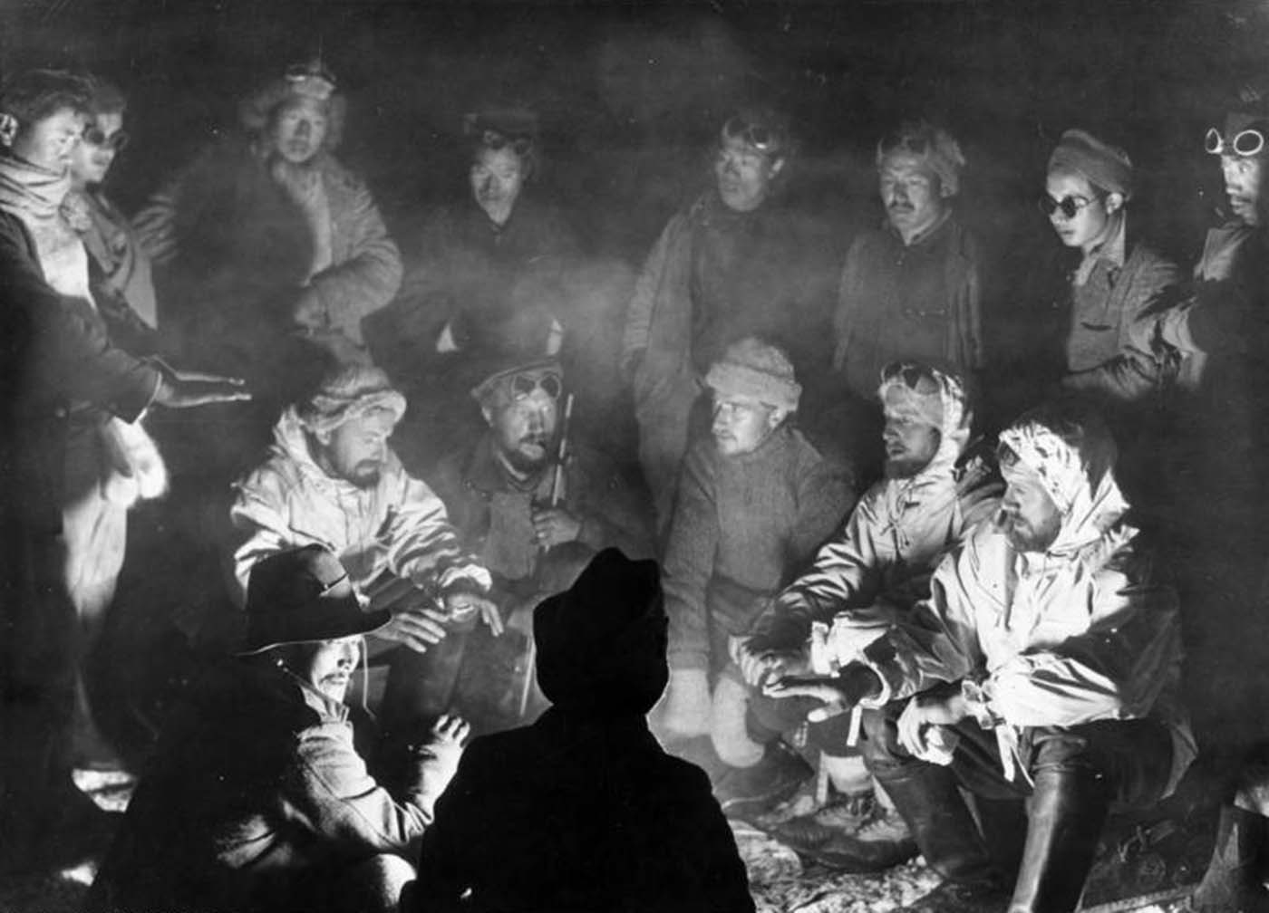Photograph of the expedition.
