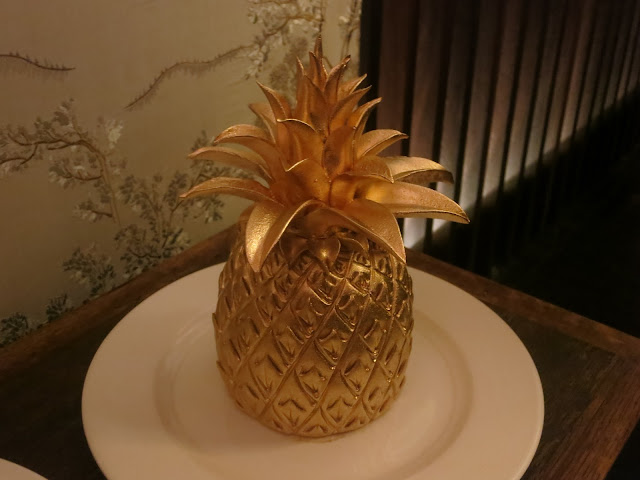 auspicious golden pineapple