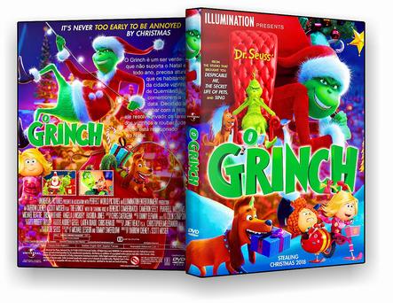 CAPA DVD – O GRINCH DVD-R