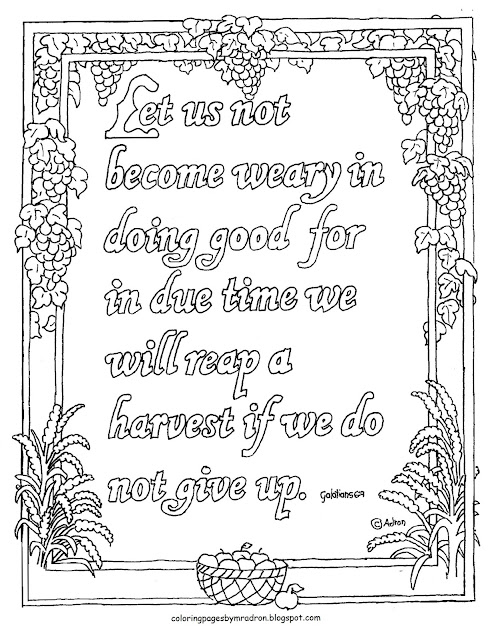 Coloring Pages For Kids By Mr Adron Free Printable