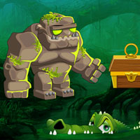 Games2Rule Escape the Stone Golem