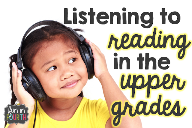 Listening to reading in the upper grades