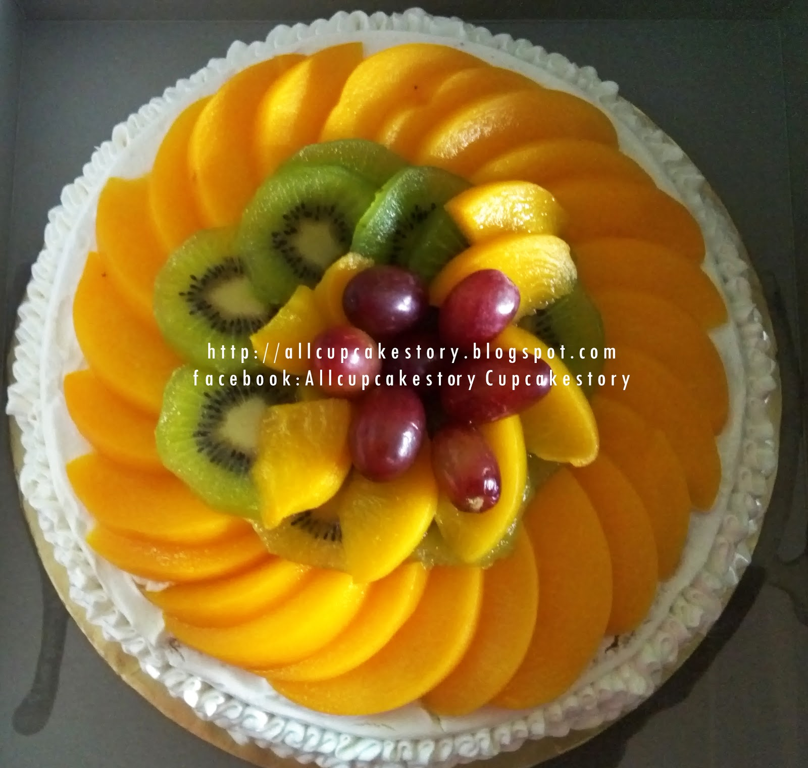 all fruit birthday cake - photo #48