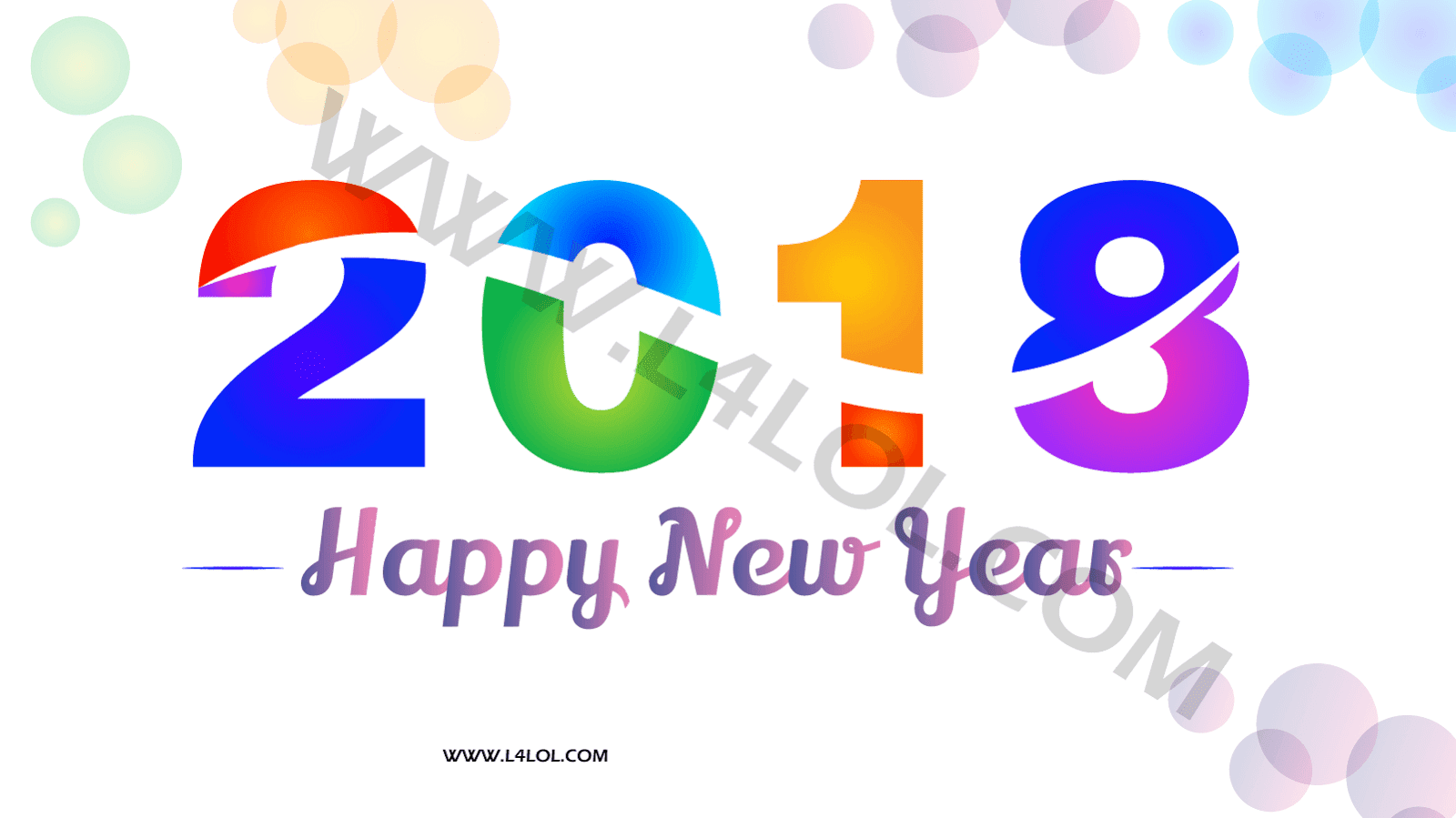Happy New Year 2018 HD Wallpaper Images Download [HD Wallpapers]