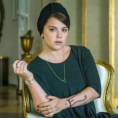 Alice Wegmann interpretou Dalila, em 'Órfãos da Terra' — Foto: Paulo Belote/TV Globo
