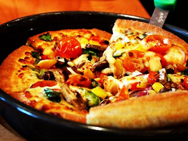 gambar cara membuat pizza dengan teflon tanpa oven
