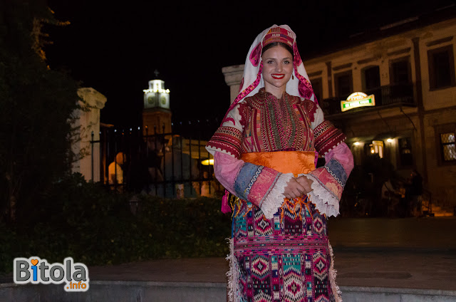 "Macedonian national costume - Ethnic area ""Debarsko Pole"""