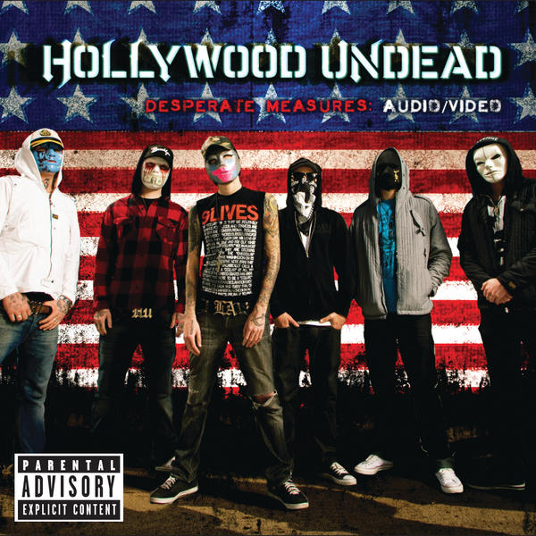Hollywood Undead - Desperate Measures Cover