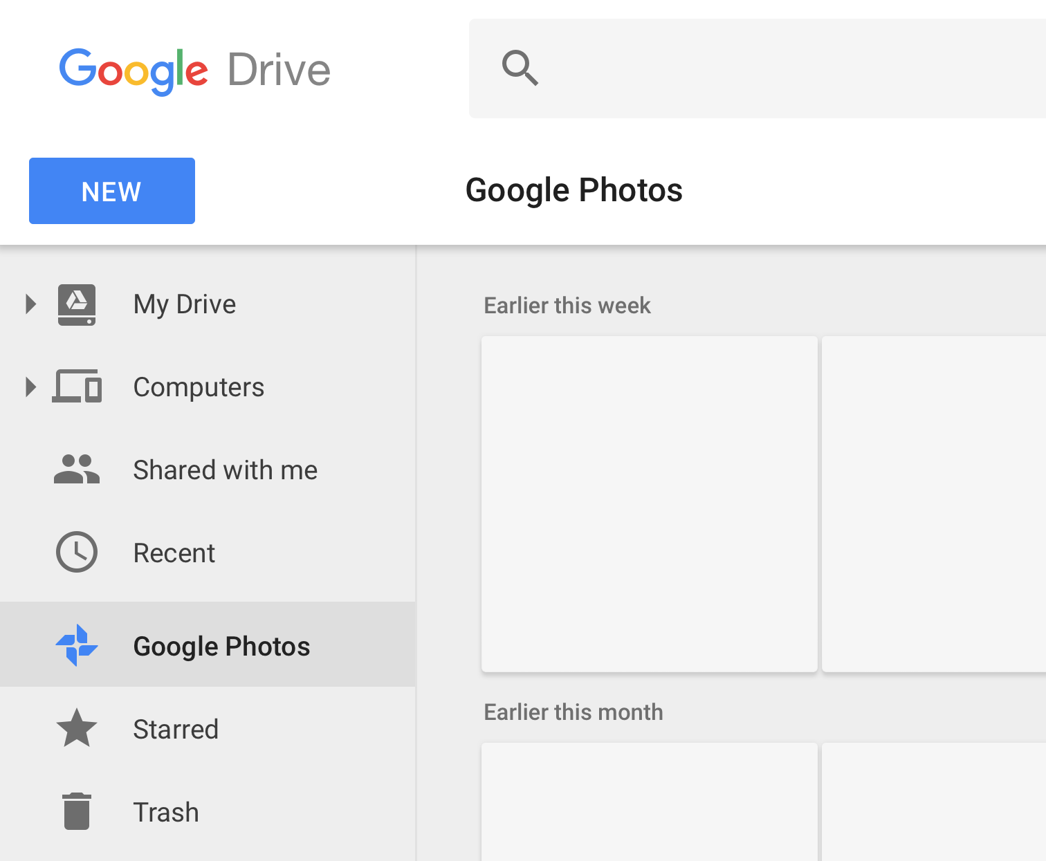 G suite updates blog in early january 2018 we will simplify drive navigation by removing the google photos tab you can continue to access your photos and videos in drive by hexwebz Choice Image