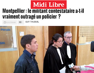http://www.midilibre.fr/2017/03/17/montpellier-le-militant-contestataire-a-t-il-vraiment-outrage-un-policier,1480316.php
