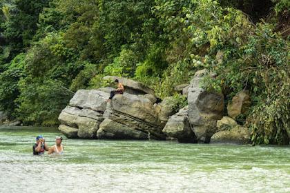 Keunikan Tempat Wisata Pemandian Air Panas Kaloy Aceh Tamiang