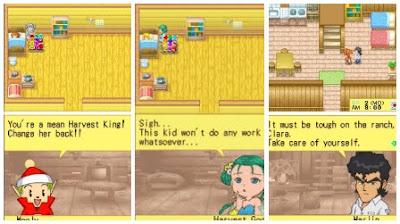 Cara  Mudah Bermain Harvest Moon DS Cute di Android