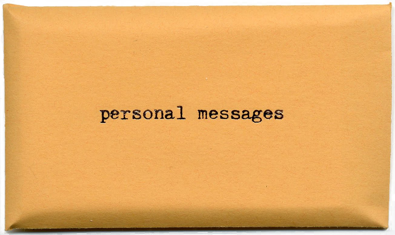 personal messages vol.3