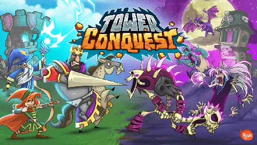 تحميل لعبة Tower Conquest مهكرة