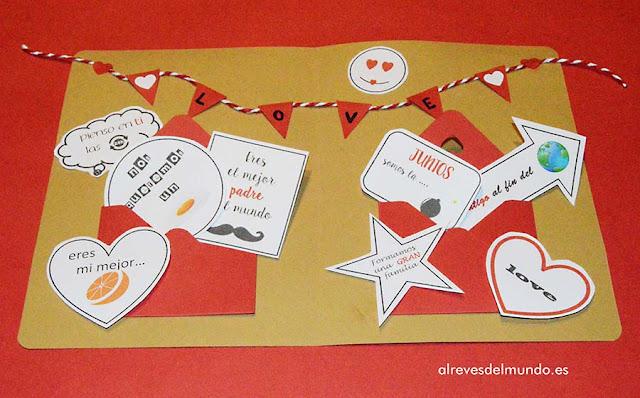 como hacer tarjeta san valentin