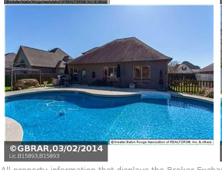 Louisiana homes and land beautiful geismar home on the market for Homes for sale in baton rouge with swimming pools