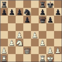 Partida de ajedrez Jaume Lladó vs. Josep Mas, posición después de 16.Dd2