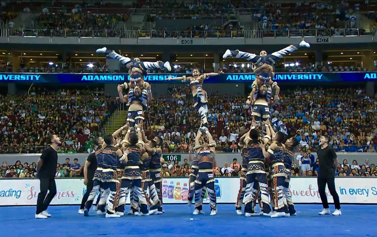 Adamson Pep Squad Cheerdance Competition CDC 2018 performance