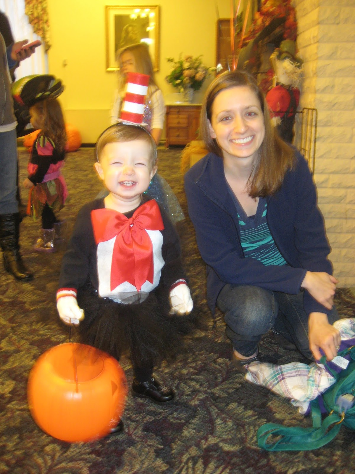 DIY Halloween Costumes for Kids and Toddlers - Cat in the Hat - www.sweetlittleonesblog.com