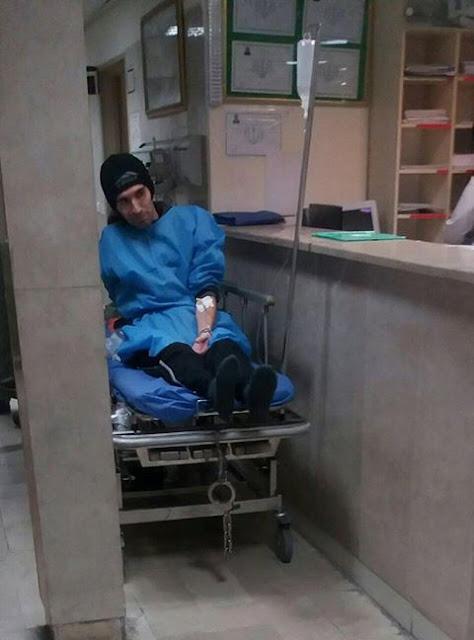 آرش صادقی در بیمارستان طالقانی بستری شد