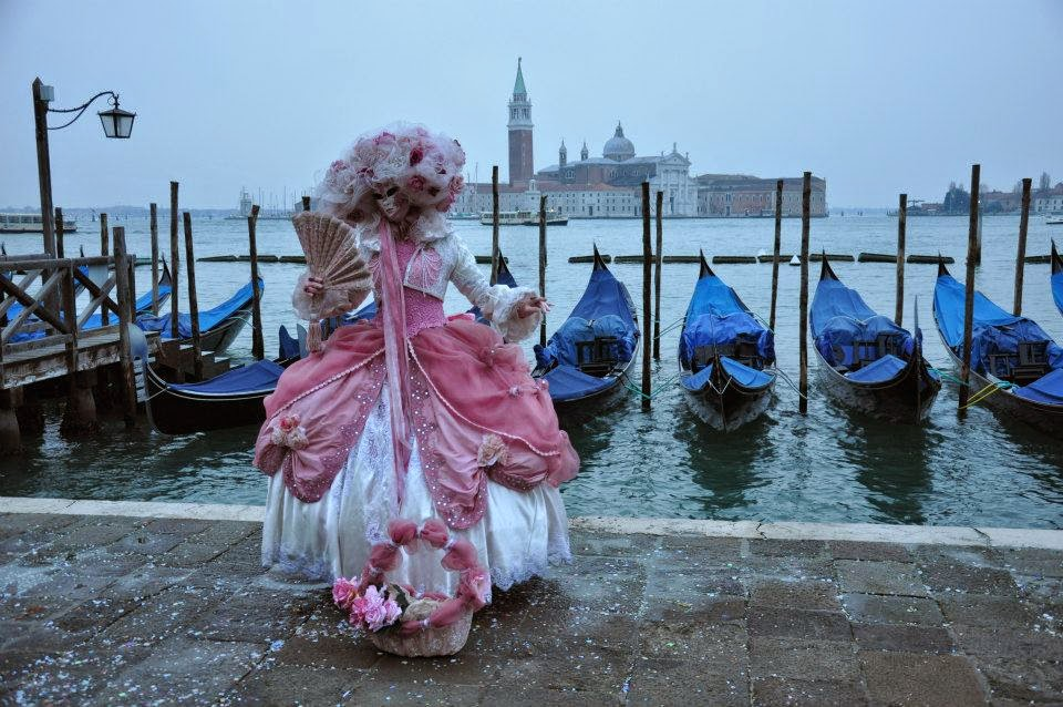 The Carnival in Venice is one of the most splendid events in Europe