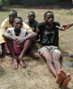 15-YEAR OLD SCHOOL BOY ARRESTED OVER ALLEGED ARMED ROBBERY AND CULTISM IN EDO STATE