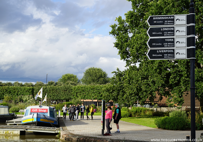 The Canal Basin in Stratford upon Avon