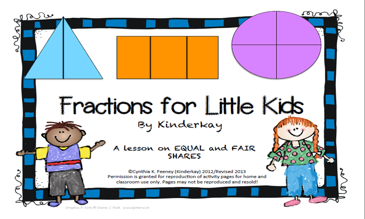 http://www.teacherspayteachers.com/Product/Fractions-for-Little-Kids-242652