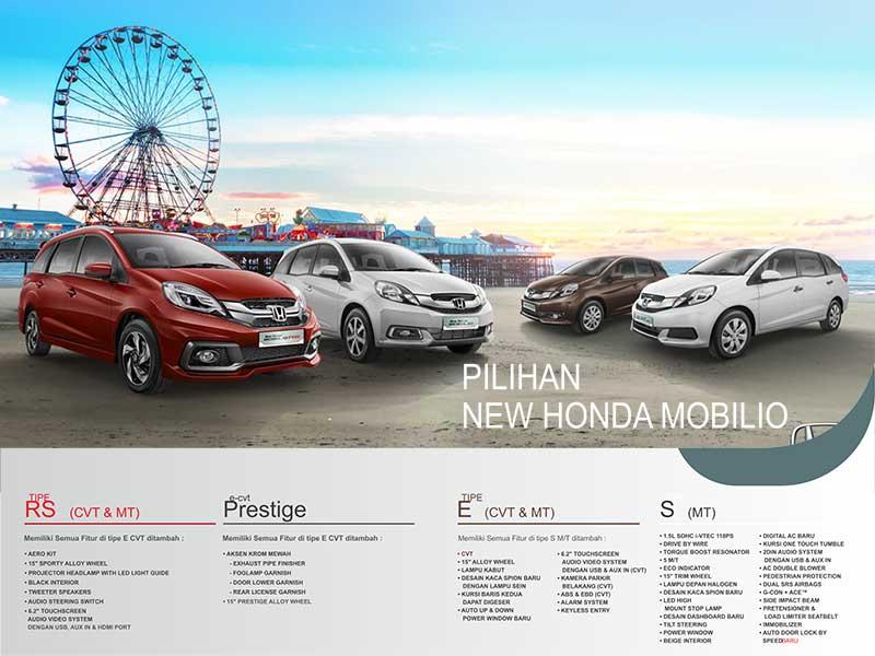 Spesifikasi Mobil Honda Mobilio