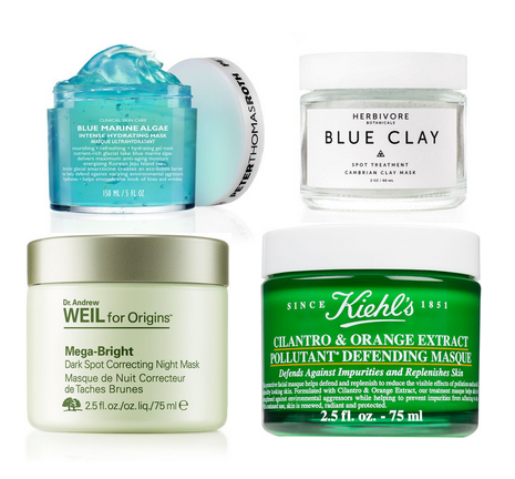 Four New Face Masks You Should Add To Your Rotation