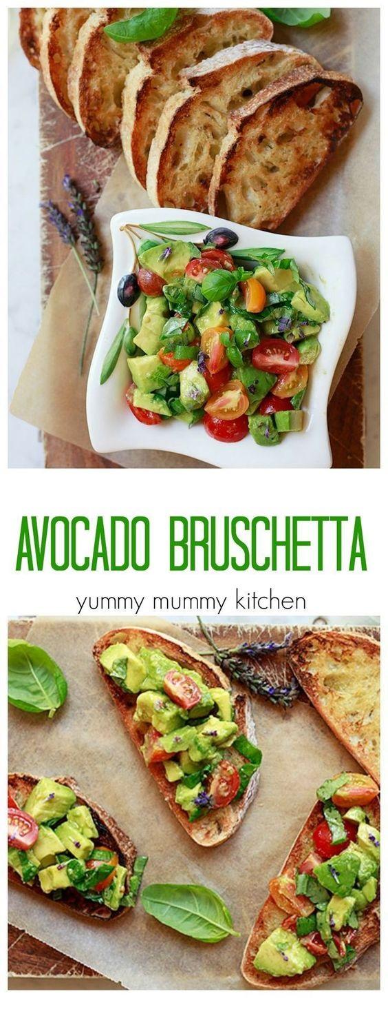 Avocado Toast Bruschetta