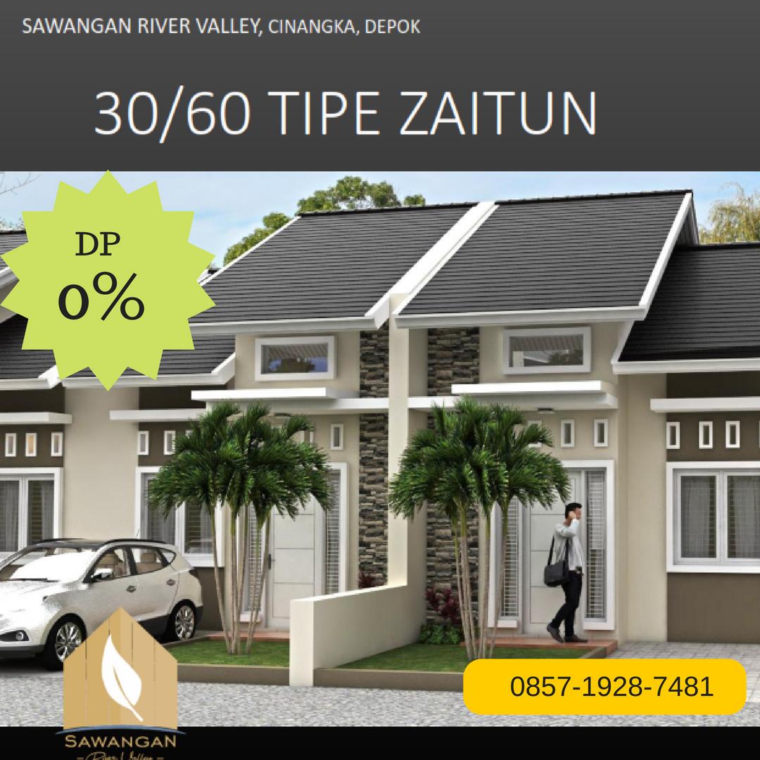 Rumah Syariah depok DP 0% Sawangan River Valley - Kredit Syariah