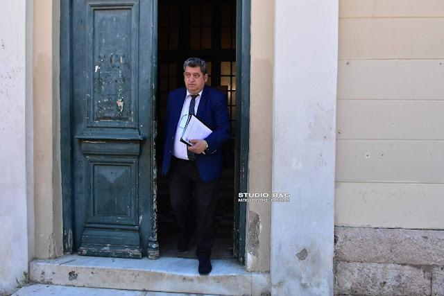 Καταγγελία του Χ. Αντωνόπουλου στον εισαγγελέα Ναυπλίου για παρανομίες του Αντιπεριφερειάρχη Αργολίδας