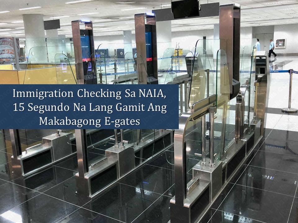 Bureau of immigration naia terminal e gates to start operation