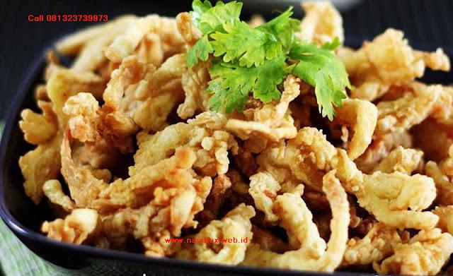 Resep Jamur Crispy nasi box cimanggu ciwidey