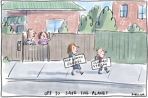 Toon of the Week - Off to Save the Planet