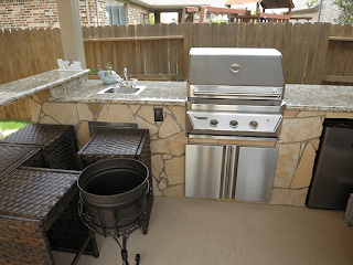Custom Outdoor Kitchen DFW 5