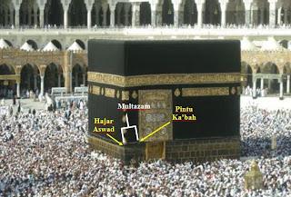 Multazam Tempat Mustajab Berdoa