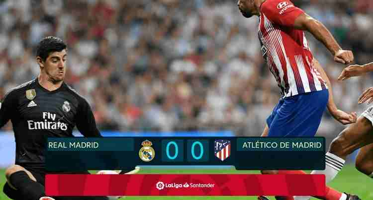 Hasil Real Madrid vs Atletico Madrid Skor Akhir 0-0