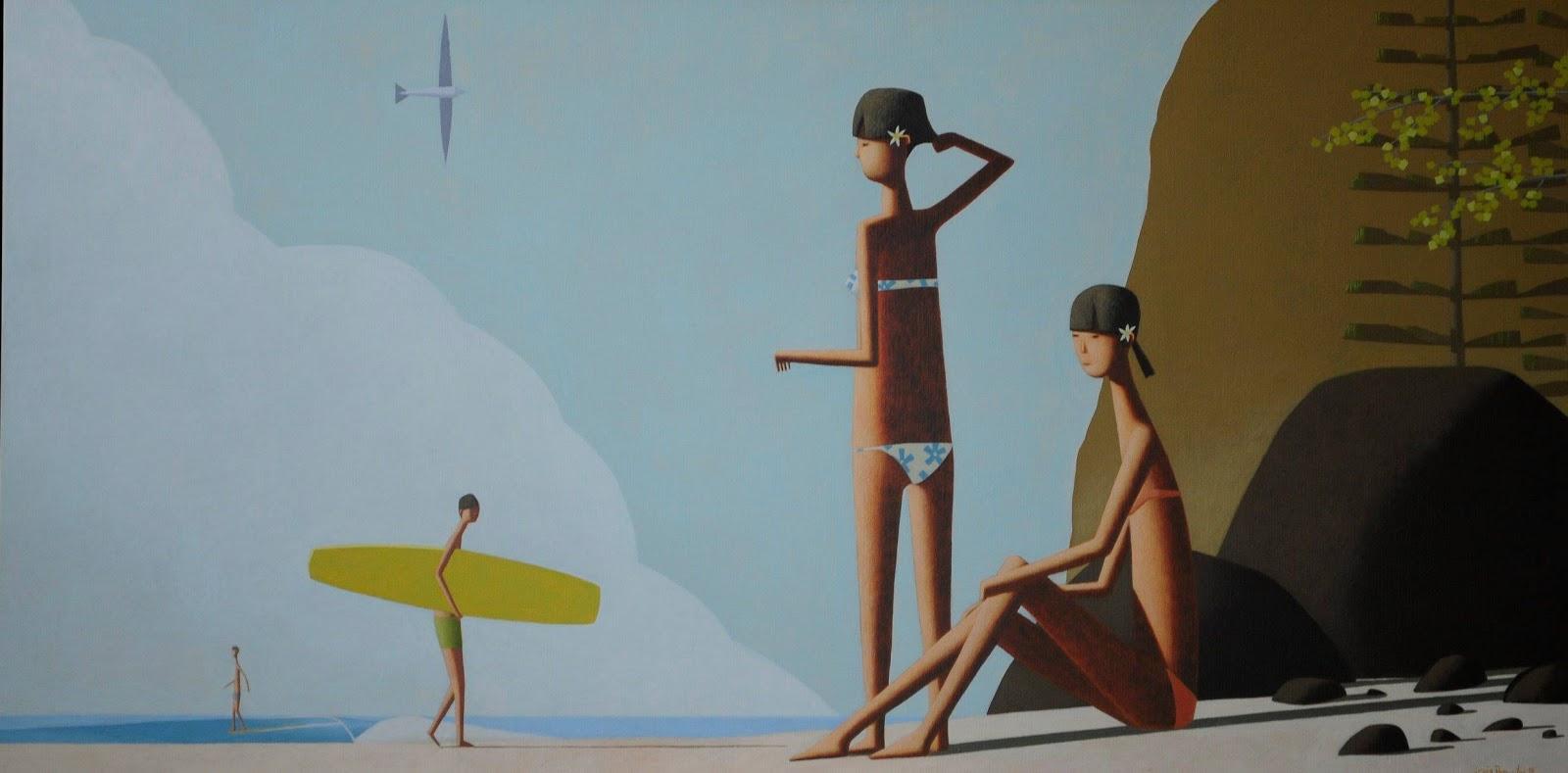 Craig Parnaby, pintando el estilo de vida de Nueva Gales del Sur